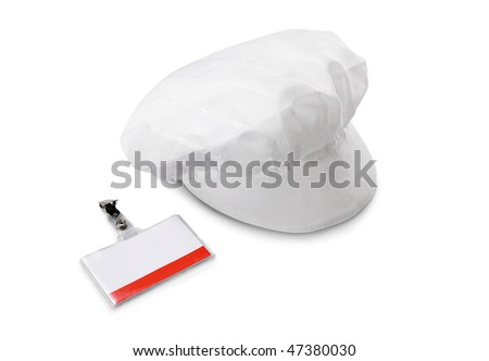 hat and Security ID pass and hat