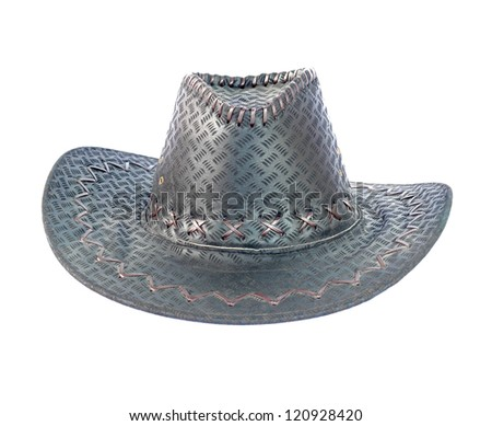 Hat isolated on white