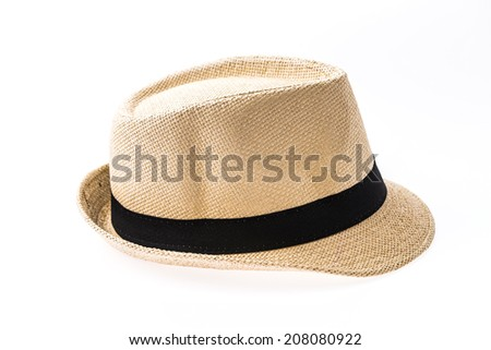 Hat isolated on white #208080922