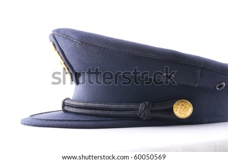 hat of the Spanish police