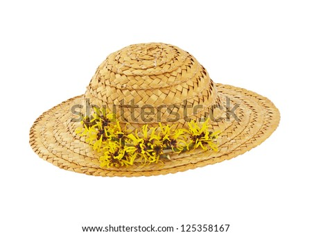 Hat with Witch Hazel