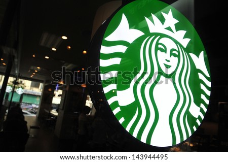 HAT YAI - MAY 16: Exterior view of a Starbucks store in the city centre on May 16, 2013 in Hat Yai, Thailand. Starbucks is the world's largest coffee house with over 20,000 stores in 61 countries.