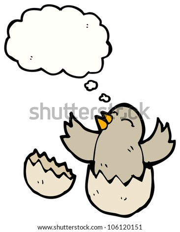 hatching chick cartoon