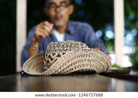 Hats made from water hyacinth, Hat weave, hat ,Cowboy Hat weave,Cowboy Hat #1246737688