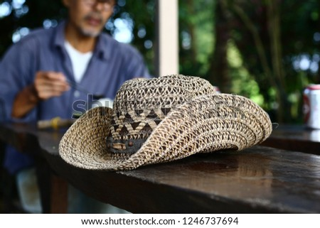 Hats made from water hyacinth, Hat weave, hat ,Cowboy Hat weave,Cowboy Hat #1246737694
