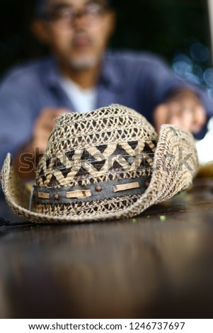 Hats made from water hyacinth, Hat weave, hat ,Cowboy Hat weave,Cowboy Hat #1246737697