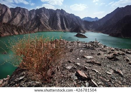Hatta Dam Lake