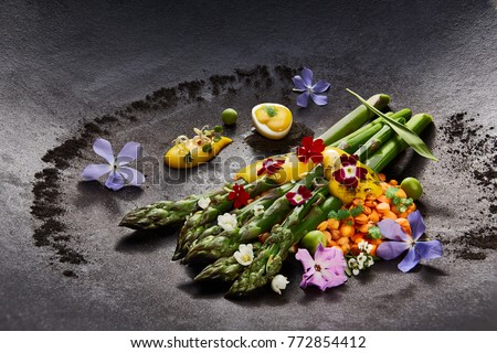 Haute Cuisine Food
