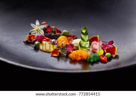 Haute Cuisine Food #772854415