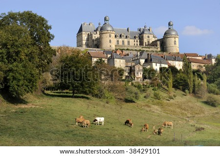 Hautefort castle is one of the most prestigious castles situated in Perigord Noir, France, near the Dordogne river in the south-west of France. It is classified as an historic Monument.