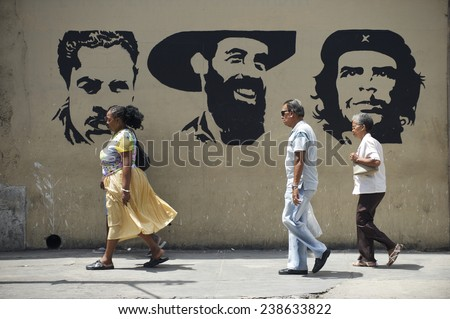 What are some features of communism in Cuba?