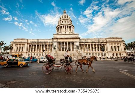 havana june 7  horse carriages...