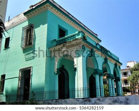 Shutterstock Havana traditional Casa