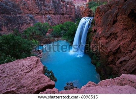 Havasu Falls - stock photo