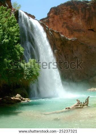 Havasupai Falls in Grand Canyon