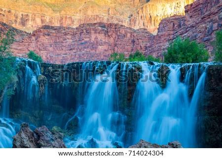 Havasupai Waterfalls in Arizona #714024304