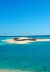 Haven: island and water of Dry Tortugas National park, florida