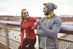 Having a partner make it jogging is more pleasure