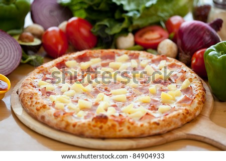 Hawaiian Pizza 5