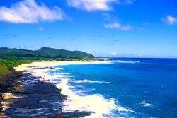 Hawaiian Sandy Beach Hawaii-Kai
