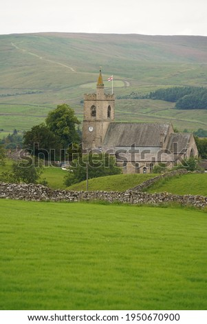 Hawes Church in the popular North Yorkshire of Hawes in Wensleydale. Stock photo ©