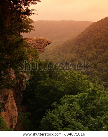 Hawksbill Crag, Upper Buffalo Wilderness Area, Ozark National Forest, Arkansas