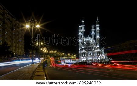 Haydar Aliyev mosque in Baku