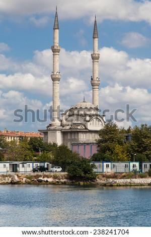 Haydarpasa Mosque in Kadikoy, Istanbul, Turkey.
