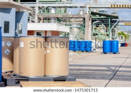 hazardous chemicals in the factory