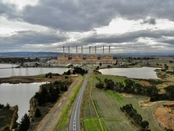Hazelwood Coal PowerStation Victoria Australia