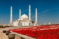 Hazrat Sultan Mosque Kazakhstan, Astana, July 24, 2017