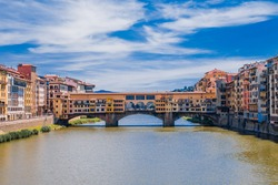 HD Image showing Ponte Vecchio, Firenze, Italy