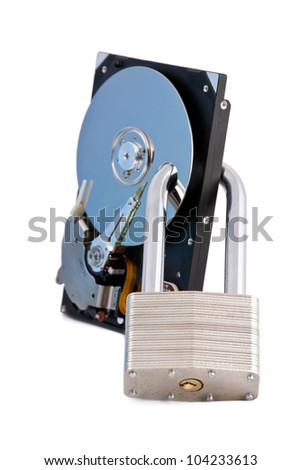 Hdd locked by steel lock