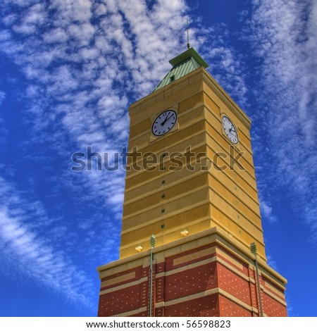 HDR Clock Tower
