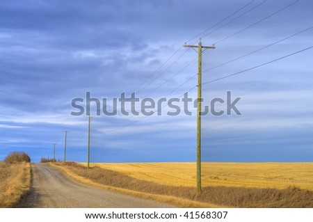 HDR Country Road