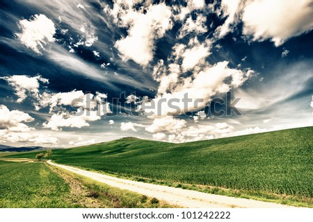 hdr hills