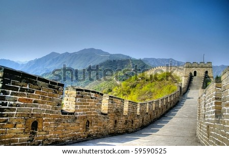 hdr image from the great wall...