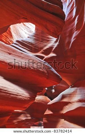 HDR image of Antelope Canyon in Page Arizona