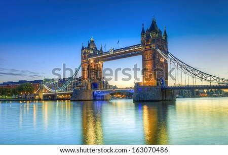 HDR image of Tower Bridge