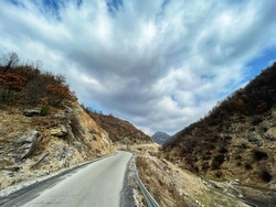 HDR landscape photography of rural environment