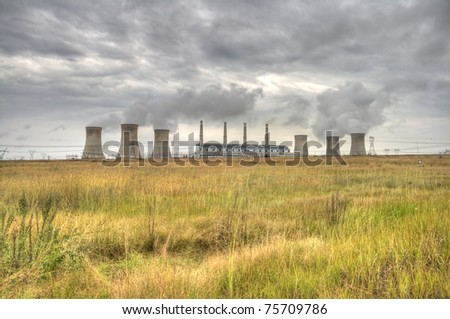 HDR photo of a PowerStation on a cloudy day