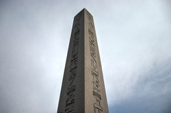 HDR photo of Obelisk in Sultanahmet Square, Istanbul