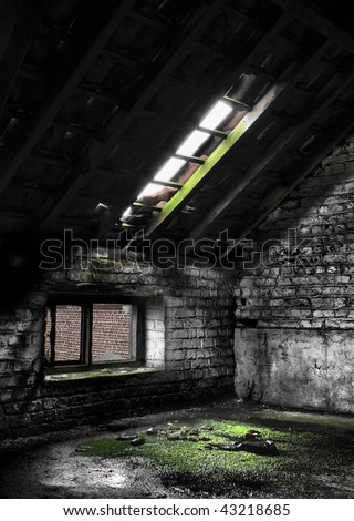 HDR picture of an abandon place