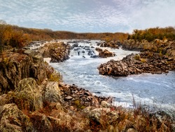 HDR View of the Great Falls of the Potomac River