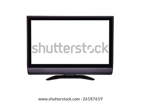 hdtv - stock photo