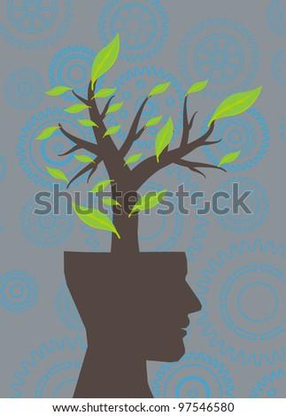 head green tree ecology