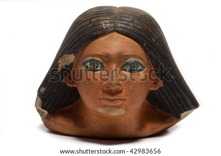 Head of a ancient egyptian