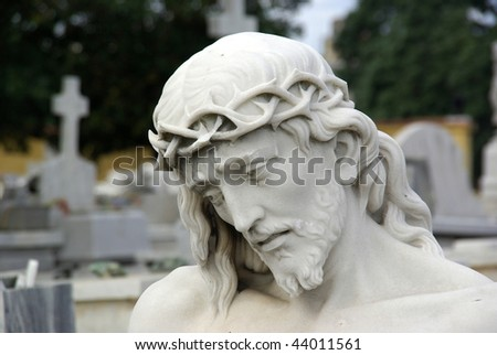 Head of Christ - stock photo