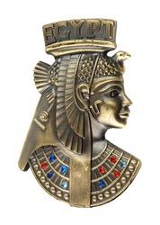head staue of egyptian queen Cleopatra