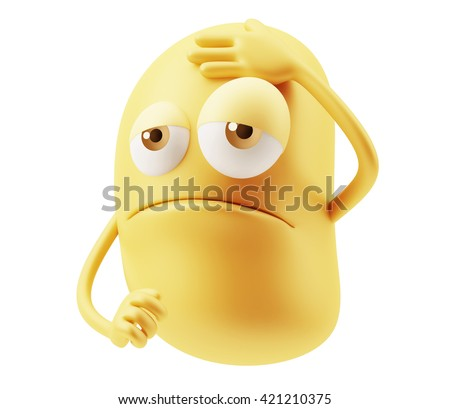 A Happy Winking Emoji Emoticon Smiley Stock Photo 314338997